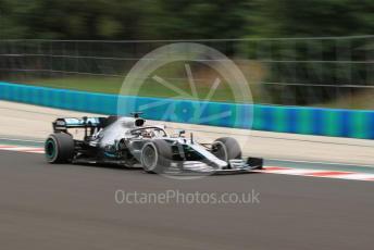 World © Octane Photographic Ltd. Formula 1 – Hungarian GP - Practice 2. Mercedes AMG Petronas Motorsport AMG F1 W10 EQ Power+ - Lewis Hamilton. Hungaroring, Budapest, Hungary. Friday 2nd August 2019.