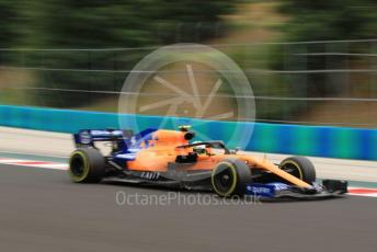 World © Octane Photographic Ltd. Formula 1 – Hungarian GP - Practice 2. McLaren MCL34 – Lando Norris. Hungaroring, Budapest, Hungary. Friday 2nd August 2019.