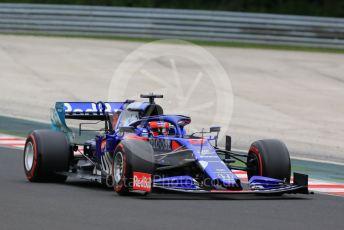 World © Octane Photographic Ltd. Formula 1 – Hungarian GP - Practice 2. Scuderia Toro Rosso STR14 – Daniil Kvyat. Hungaroring, Budapest, Hungary. Friday 2nd August 2019.