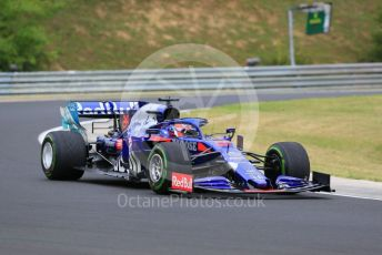 World © Octane Photographic Ltd. Formula 1 – Hungarian GP - Practice 2. Scuderia Toro Rosso STR14 – Daniil Kvyat. Hungaroring, Budapest, Hungary. Friday 2nd August 2019.