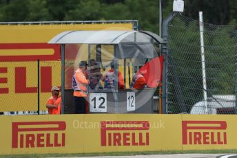 World © Octane Photographic Ltd. Formula 1 – Hungarian GP - Practice 2. Red flag caused bu Albon's crash at T14. Hungaroring, Budapest, Hungary. Friday 2nd August 2019.