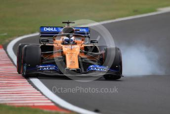 World © Octane Photographic Ltd. Formula 1 – Hungarian GP - Practice 3. McLaren MCL34 – Carlos Sainz. Hungaroring, Budapest, Hungary. Saturday 3rd August 2019.