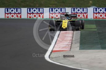 World © Octane Photographic Ltd. Formula 1 – Hungarian GP - Practice 3. Renault Sport F1 Team RS19 – Daniel Ricciardo. Hungaroring, Budapest, Hungary. Saturday 3rd August 2019.