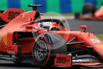 World © Octane Photographic Ltd. Formula 1 – Hungarian GP - Practice 3. Scuderia Ferrari SF90 – Sebastian Vettel. Hungaroring, Budapest, Hungary. Saturday 3rd August 2019.