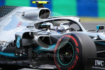 World © Octane Photographic Ltd. Formula 1 – Hungarian GP - Practice 3. Mercedes AMG Petronas Motorsport AMG F1 W10 EQ Power+ - Valtteri Bottas. Hungaroring, Budapest, Hungary. Saturday 3rd August 2019.