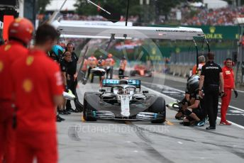 World © Octane Photographic Ltd. Formula 1 – Hungarian GP - Practice 3. Mercedes AMG Petronas Motorsport AMG F1 W10 EQ Power+ - Lewis Hamilton. Hungaroring, Budapest, Hungary. Saturday 3rd August 2019.