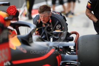 World © Octane Photographic Ltd. Formula 1 – Hungarian GP - Practice 3. Aston Martin Red Bull Racing RB15 – Max Verstappen. Hungaroring, Budapest, Hungary. Saturday 3rd August 2019.