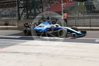 World © Octane Photographic Ltd. Formula 1 – Hungarian GP - Practice 3. ROKiT Williams Racing FW 42 – George Russell. Hungaroring, Budapest, Hungary. Saturday 3rd August 2019.