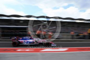 World © Octane Photographic Ltd. Formula 1 – Hungarian GP - Practice 3. SportPesa Racing Point RP19 – Lance Stroll. Hungaroring, Budapest, Hungary. Saturday 3rd August 2019.