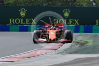 World © Octane Photographic Ltd. Formula 1 – Hungarian GP - Qualifying. Scuderia Ferrari SF90 – Sebastian Vettel. Hungaroring, Budapest, Hungary. Saturday 3rd August 2019.