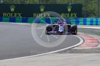World © Octane Photographic Ltd. Formula 1 – Hungarian GP - Qualifying. Scuderia Toro Rosso STR14 – Daniil Kvyat. Hungaroring, Budapest, Hungary. Saturday 3rd August 2019.