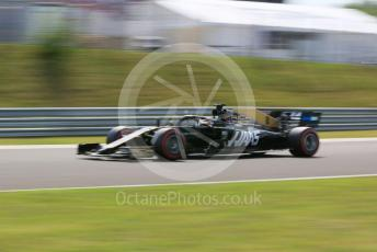 World © Octane Photographic Ltd. Formula 1 – Hungarian GP - Qualifying. Rich Energy Haas F1 Team VF19 – Romain Grosjean. Hungaroring, Budapest, Hungary. Saturday 3rd August 2019.