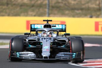 World © Octane Photographic Ltd. Formula 1 – Hungarian GP - Qualifying. Mercedes AMG Petronas Motorsport AMG F1 W10 EQ Power+ - Lewis Hamilton. Hungaroring, Budapest, Hungary. Saturday 3rd August 2019.