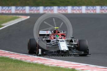 World © Octane Photographic Ltd. Formula 1 – Hungarian GP - Qualifying. Alfa Romeo Racing C38 – Antonio Giovinazzi. Hungaroring, Budapest, Hungary. Saturday 3rd August 2019.