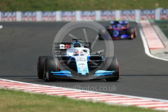 World © Octane Photographic Ltd. Formula 1 – Hungarian GP - Qualifying. ROKiT Williams Racing FW 42 – George Russell. Hungaroring, Budapest, Hungary. Saturday 3rd August 2019.