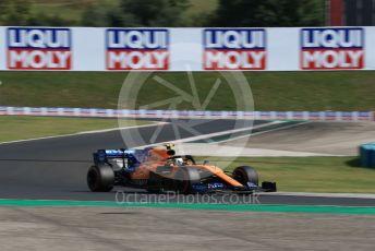World © Octane Photographic Ltd. Formula 1 – Hungarian GP - Qualifying. McLaren MCL34 – Lando Norris. Hungaroring, Budapest, Hungary. Saturday 3rd August 2019.
