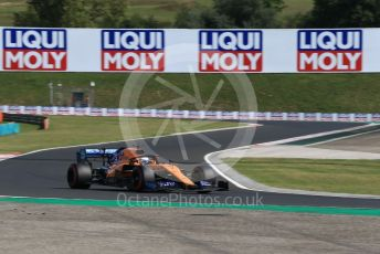 World © Octane Photographic Ltd. Formula 1 – Hungarian GP - Qualifying. McLaren MCL34 – Carlos Sainz. Hungaroring, Budapest, Hungary. Saturday 3rd August 2019.