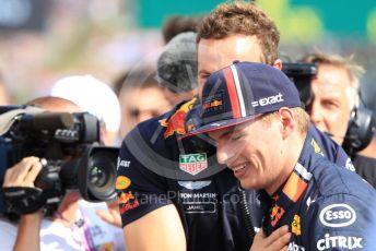 World © Octane Photographic Ltd. Formula 1 – Hungarian GP - Qualifying. Aston Martin Red Bull Racing RB15 – Max Verstappen. Hungaroring, Budapest, Hungary. Saturday 3rd August 2019.