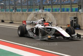 World © Octane Photographic Ltd. FIA Formula 2 (F2) – Hungarian GP - Practice. ART Grand Prix - Nikita Mazepin. Hungaroring, Budapest, Hungary. Friday 2nd August 2019.