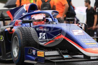 World © Octane Photographic Ltd. FIA Formula 2 (F2) – Hungarian GP - Qualifying. Carlin - Nobuharu Matsushita. Hungaroring, Budapest, Hungary. Friday 2nd August 2019.