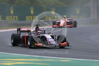 World © Octane Photographic Ltd. FIA Formula 2 (F2) – Hungarian GP - Qualifying. Trident - Giuliano Alesi and Prema Racing - Sean Gelael. Hungaroring, Budapest, Hungary. Friday 2nd August 2019.