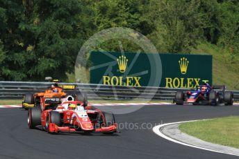 World © Octane Photographic Ltd. FIA Formula 2 (F2) – Hungarian GP - Race 1. Prema Racing – Mick Schumacher and Campos Racing - Jack Aitken. Hungaroring, Budapest, Hungary. Saturday 3rd August 2019.