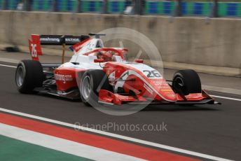 World © Octane Photographic Ltd. FIA Formula 3 (F3) – Hungarian GP – Practice. Prema Racing - Marcus Armstrong. Hungaroring, Budapest, Hungary. Friday 2nd August 2019.
