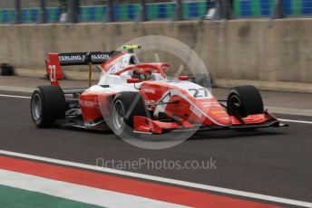 World © Octane Photographic Ltd. FIA Formula 3 (F3) – Hungarian GP – Practice. Prema Racing - Jehan Daravula. Hungaroring, Budapest, Hungary. Friday 2nd August 2019.