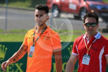 World © Octane Photographic Ltd. FIA Formula 3 (F3) – Hungarian GP – Trackwalk. Campos Racing - Alessio Deledda. Hungaroring, Budapest, Hungary. Thursday 1st August 2019.