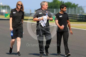 World © Octane Photographic Ltd. FIA Formula 2 (F2) – Hungarian GP - Trackwalk. MP Motorsport - Mahaveer Raghunathan. Hungaroring, Budapest, Hungary. Thursday 1st August 2019.