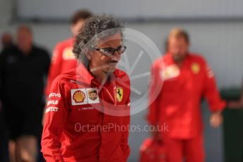 World © Octane Photographic Ltd. Formula 1 - Hungarian GP - Paddock. Laurent Mekies – Sporting Director of Scuderia Ferrari. Hungaroring, Budapest, Hungary. Saturday 3rd August 2019.