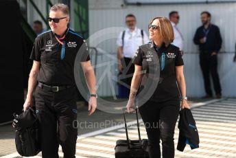 World © Octane Photographic Ltd. Formula 1 - Hungarian GP - Paddock. Claire Williams - Deputy Team Principal of ROKiT Williams Racing. Hungaroring, Budapest, Hungary. Saturday 3rd August 2019.
