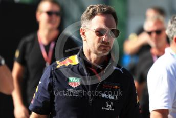 World © Octane Photographic Ltd. Formula 1 - Hungarian GP - Paddock. Christian Horner - Team Principal of Red Bull Racing. Hungaroring, Budapest, Hungary. Sunday 4th August 2019.