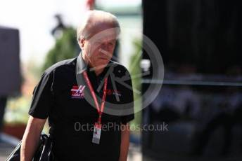 World © Octane Photographic Ltd. Formula 1 - Hungarian GP - Paddock. Gene Haas  - Founder and Chairman of Rich Energy Haas F1 Team. Hungaroring, Budapest, Hungary. Sunday 4th August 2019.