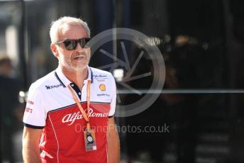 World © Octane Photographic Ltd. Formula 1 - Hungarian GP - Paddock. Beat Zehnder – Team Manager Alfa Romeo Racing. Hungaroring, Budapest, Hungary. Sunday 4th August 2019.
