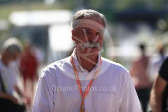 World © Octane Photographic Ltd. Formula 1 - Hungarian GP - Paddock. Chase Carey - Chief Executive Officer of the Formula One Group. Hungaroring, Budapest, Hungary. Sunday 4th August 2019.