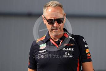 World © Octane Photographic Ltd. Formula 1 - Hungarian GP - Paddock. Jonathan Wheatley - Team Manager of Red Bull Racing. Hungaroring, Budapest, Hungary. Sunday 4th August 2019.