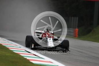 World © Octane Photographic Ltd. Formula 1 – Italian GP - Practice 1. Alfa Romeo Racing C38 – Kimi Raikkonen. Autodromo Nazionale Monza, Monza, Italy. Friday 6th September 2019.