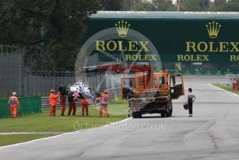 World © Octane Photographic Ltd. Formula 1 – Italian GP - Practice 1. SportPesa Racing Point RP19 - Sergio Perez. Autodromo Nazionale Monza, Monza, Italy. Friday 6th September 2019.