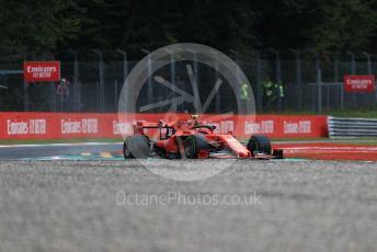 World © Octane Photographic Ltd. Formula 1 – Italian GP - Practice 1. Scuderia Ferrari SF90 – Charles Leclerc. Autodromo Nazionale Monza, Monza, Italy. Friday 6th September 2019.