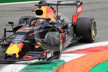 World © Octane Photographic Ltd. Formula 1 – Italian GP - Practice 2. Aston Martin Red Bull Racing RB15 – Max Verstappen. Autodromo Nazionale Monza, Monza, Italy. Friday 6th September 2019.