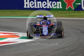 World © Octane Photographic Ltd. Formula 1 – Italian GP - Practice 2. Scuderia Toro Rosso - Pierre Gasly. Autodromo Nazionale Monza, Monza, Italy. Friday 6th September 2019.