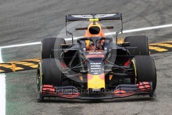 World © Octane Photographic Ltd. Formula 1 – Italian GP - Practice 2. Aston Martin Red Bull Racing RB15 – Alexander Albon. Autodromo Nazionale Monza, Monza, Italy. Friday 6th September 2019.