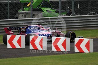 World © Octane Photographic Ltd. Formula 1 – Italian GP - Practice 2. SportPesa Racing Point RP19 - Sergio Perez. Autodromo Nazionale Monza, Monza, Italy. Friday 6th September 2019.