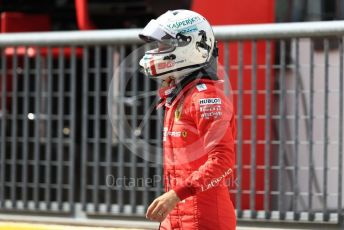 World © Octane Photographic Ltd. Formula 1 – Italian GP - Practice 3. Scuderia Ferrari SF90 – Sebastian Vettel. Autodromo Nazionale Monza, Monza, Italy. Saturday 7th September 2019.