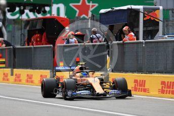 World © Octane Photographic Ltd. Formula 1 – Italian GP - Practice 3. McLaren MCL34 – Lando Norris. Autodromo Nazionale Monza, Monza, Italy. Saturday 7th September 2019.