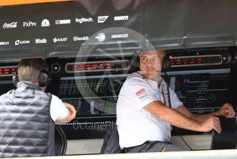 World © Octane Photographic Ltd. Formula 1 - Italian GP - Practice 3. Paul James – Team Manager at McLaren. Autodromo Nazionale Monza, Monza, Italy. Saturday 7th September 2019.