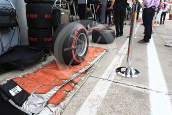 World © Octane Photographic Ltd. Formula 1 – Italian GP - Practice 3. Mercedes AMG Petronas Motorsport AMG F1 W10 EQ Power+ - Lewis Hamilton tyres. Autodromo Nazionale Monza, Monza, Italy. Saturday 7th September 2019.