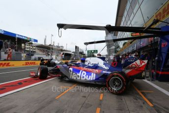 World © Octane Photographic Ltd. Formula 1 – Italian GP - Practice 3. Scuderia Toro Rosso - Pierre Gasly. Autodromo Nazionale Monza, Monza, Italy. Saturday 7th September 2019.