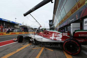 World © Octane Photographic Ltd. Formula 1 – Italian GP - Practice 3. Alfa Romeo Racing C38 – Antonio Giovinazzi. Autodromo Nazionale Monza, Monza, Italy. Saturday 7th September 2019.